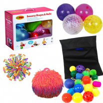 Deluxe Sensory Ball Buddy Set